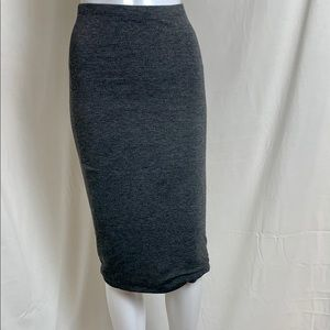 Casual Gray Express Skirt